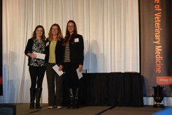 Royal Canin Excellence in Nutrition Award - Brittany Graham, Dr. Rachel Jampsa, Erika Akerman