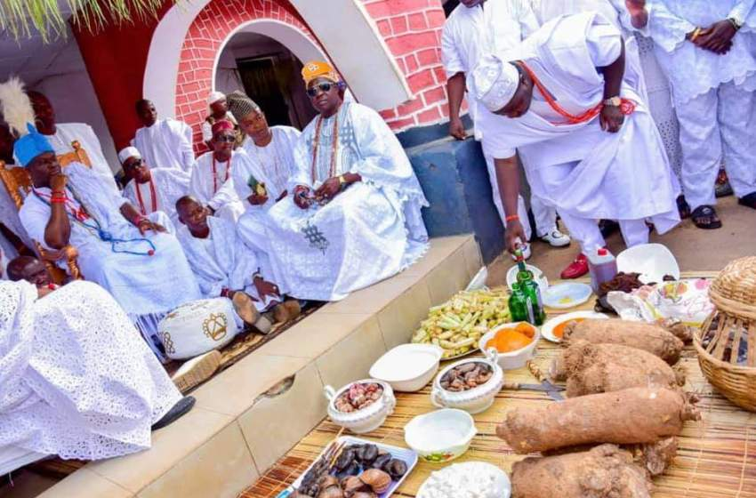 Ooni of Ife announces names of first Prince