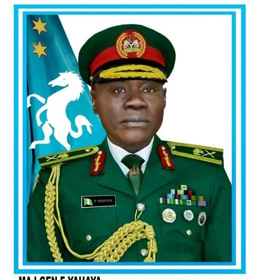Buhari appoints Yahaya as new Chief of Army Staff