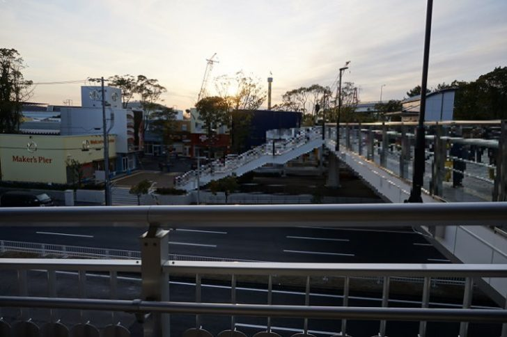 レゴランド 金城ふ頭 通路からメーカーズピア