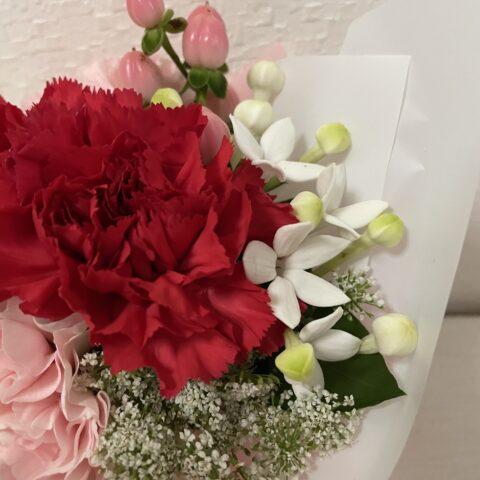 母の日おしゃれ安い花束