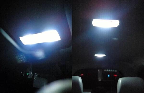 車内のランプをLED化
