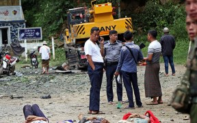 BODIES MYANMAR FIGHTING