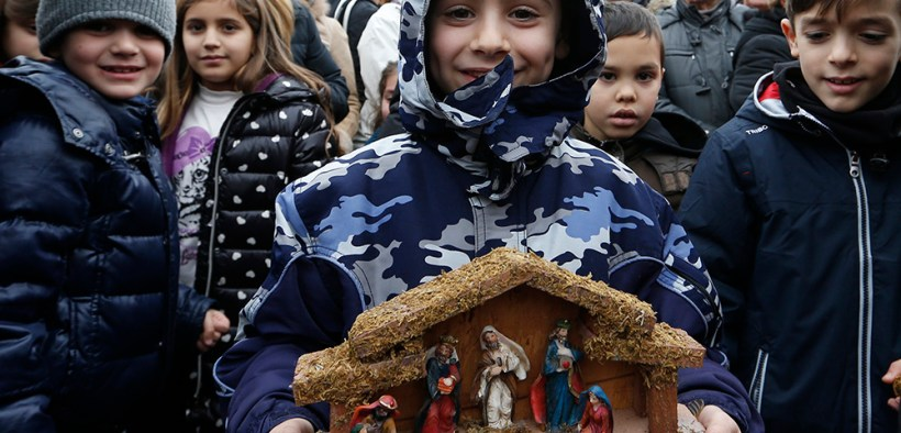 ANGELUS NATIVITY FIGURINES