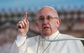 POPE FRANCIS FILE PHOTO