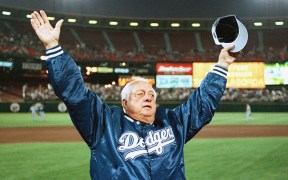 TOMMY LASORDA DODGERS BASEBALL