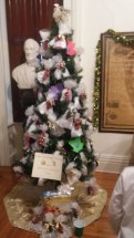 ARC of Oswego County submits a tree decorate to the theme: Senior's Giving Tree, of which small gift bags on the tree will be donated to local senior citizens.