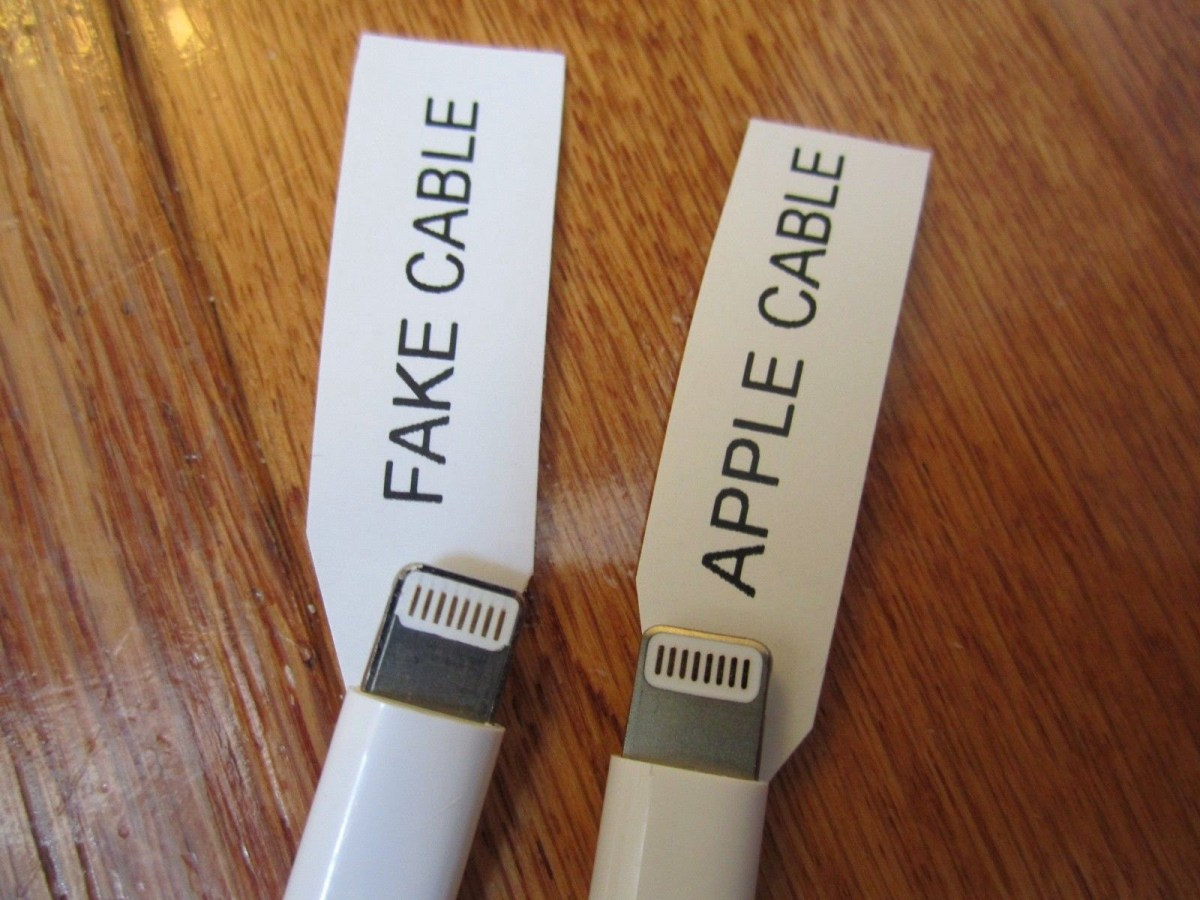Do not be deceived, Here's How to Distinguish Genuine and Counterfeit iPhone Cables