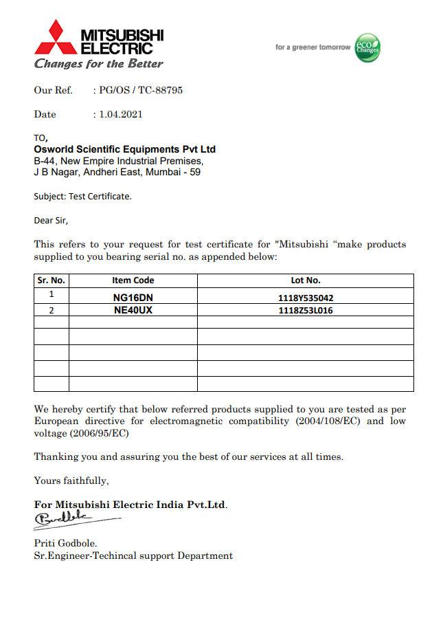 Mitsubishi Electric India Pvt.Ltd.