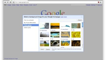 How to Remove the Google Background Image