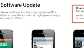 iOS 4 1 download available