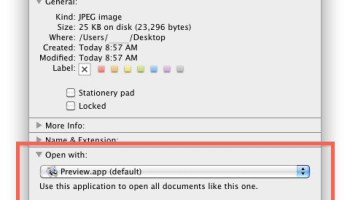 2 Ways to Change the Default Application to Open Files With in Mac OS X