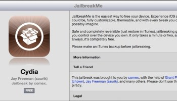 Easy iPhone Jailbreak with JailbreakMe