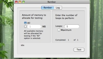 memtest for mac os x tests your ram