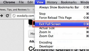 How to Use Google Chrome Full Screen on Mac