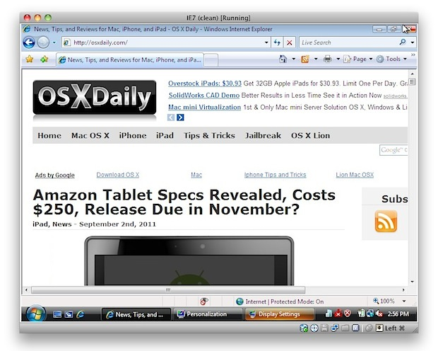 internet explorer for mac os x 10.6.6 download