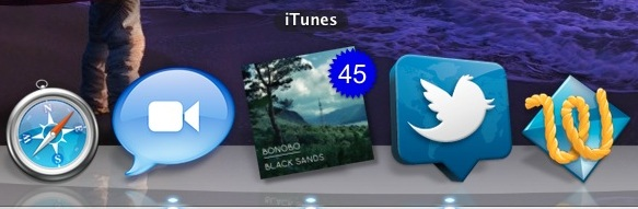 iTunes Album Art Dock Icon