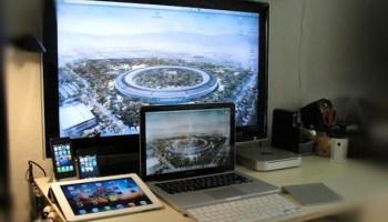 Mac Setups: Dual Screen Mac Mini Server & iPad 2