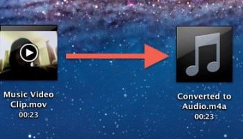 Convert AIFF to M4A Directly in Mac OS X Easily & For Free