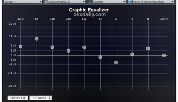 Record System Audio Output in Mac OS X with Soundflower