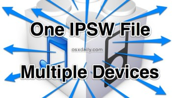 IPSW File Location for Mac and Windows