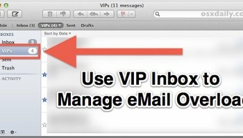 Set a Unique Alert Tone for New Mail Messages from VIP List in iOS