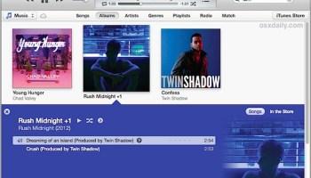 iTunes Visualizer Fun