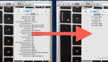 How to View EXIF Data of Any Picture in Photos for Mac
