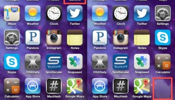 Fix a Missing Camera Icon on iPhone After iOS Update | OSXDaily