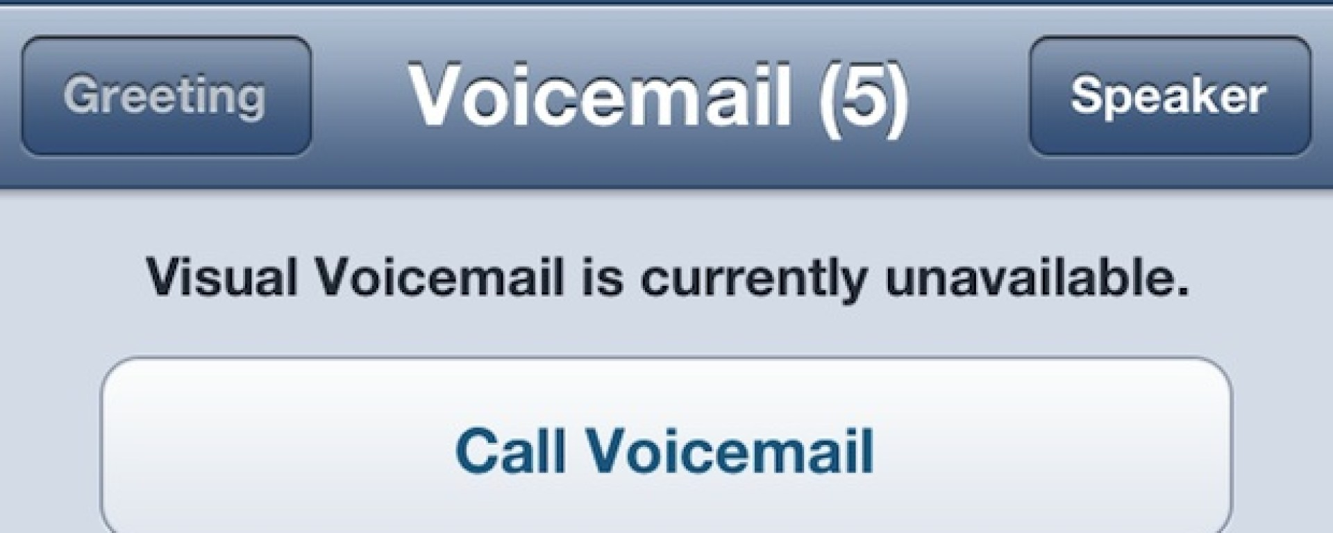 """Fixing The """"Visual Voicemail Unavailable"""" Error On The"""