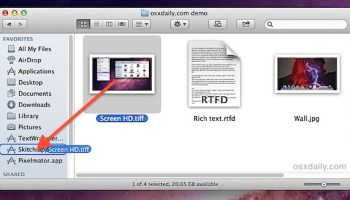 Drag & Launch Apps from Finder Window Sidebars
