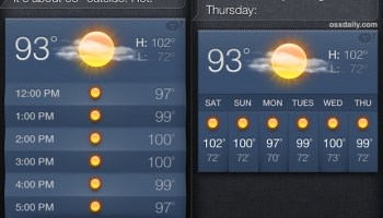 How to Change Weather Temperature from Fahrenheit to Celsius on iPhone