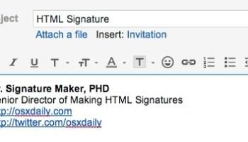 email signatures maker