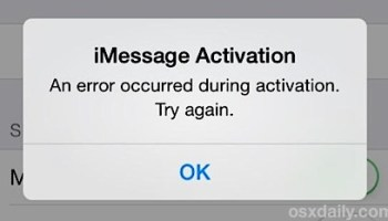 "Fix an ""Activation Error"" After an iPhone Reset / Restore"