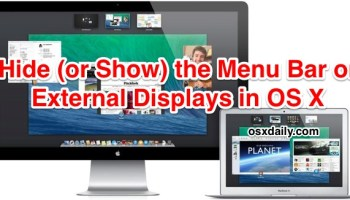How to Detect Displays on a Mac with OS X El Capitan