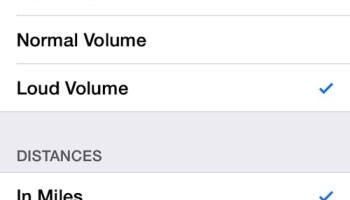 apple maps no voice