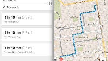 How to Get Transit Directions in Maps on iPhone Directions In Maps on