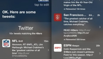 Post to Twitter and Facebook with Siri