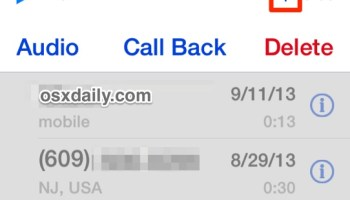 Delete Voicemails from the iPhone One at a Time or Multiple at Once