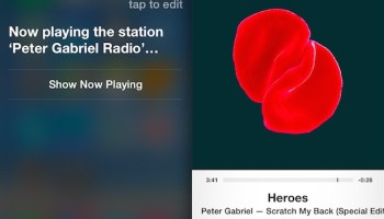 Create a New iTunes Radio Station from Currently Playing
