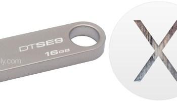 How to Make a Bootable OS X Mavericks USB Install Drive