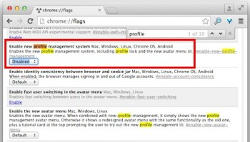 How to Enable Multiple Profile & Guest Browsing Support in Chrome
