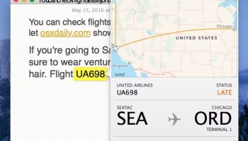 See What AirPlanes Are Flying Overhead with Siri & iPhone