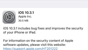 iOS 10 3 2 Update Out for iPhone, iPad [IPSW Download Links]