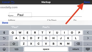 How to Markup, Write, & Draw on Photos with iPhone or iPad