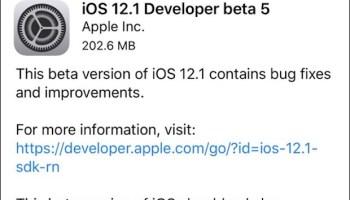 Download iOS 12 1 Update Now [IPSW Links]