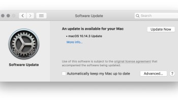 MacOS Mojave 10 14 5 Update Available for Download