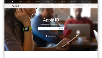 change icloud password from web