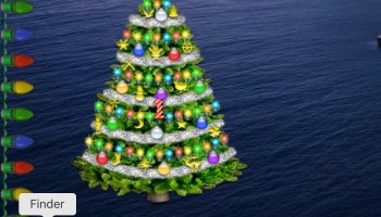 treetoplights mac desktop xmas tree and lights