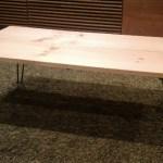 【キャンプ道具】一万円で購入できる木製ローテーブルを買ってみた!